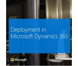 Развертывание Microsoft Dynamics 365